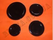 Набор крышек для горелок газ. плит Electrolux 8072424032, 8072424024, 8072424016