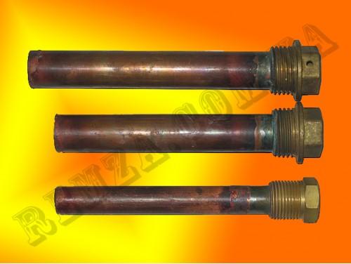 Стакан медный, L=120 мм, Ø16 мм