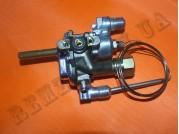 Газовый кран с термостатом Indesit C0082339 (482000027535)
