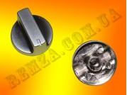 Ручка газовой плиты D=8 мм (металл серебро)