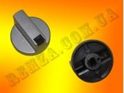 Ручка газовой плиты D=8 мм (пластмасс серебро)