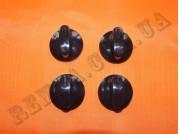 Ручка настольной плиты Грета 1103, CB-04 черная