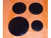 Набор крышек для горелок газ. плит Гефест