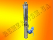 Центробежный многоступенчатый скваженный электронасос Sprut 100QJD509-1.5