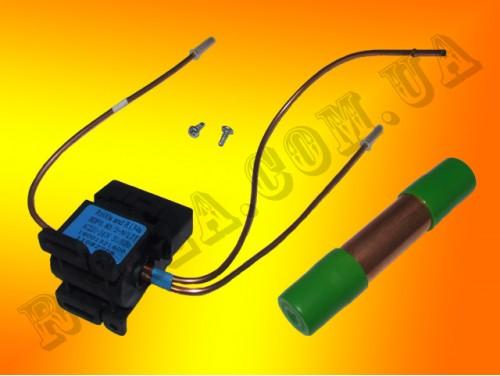Клапан переключающий и фильтр Indesit 0143140