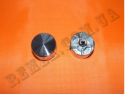 Ручка газовой плиты D=6 мм (металл серебро) круглая