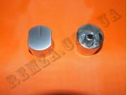Ручка газовой плиты D=6 мм (металл серебро) овал