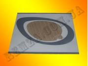 Стекло духовки плиты Greta 498*384 мм (наружное)