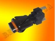 Кнопка подсветки духовки Гефест ПКН-507 коричневая