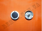 Ручка газовой плиты D=6 мм (металл серебро пластик)